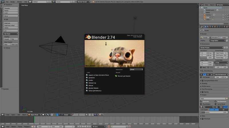 Videotutorial de Blender